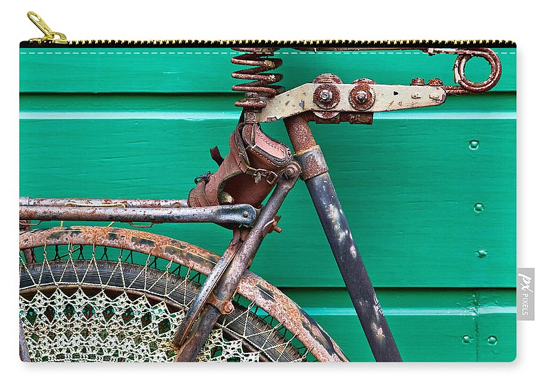 Bike Carry-all Pouch featuring the photograph Better Days by Dave Bowman