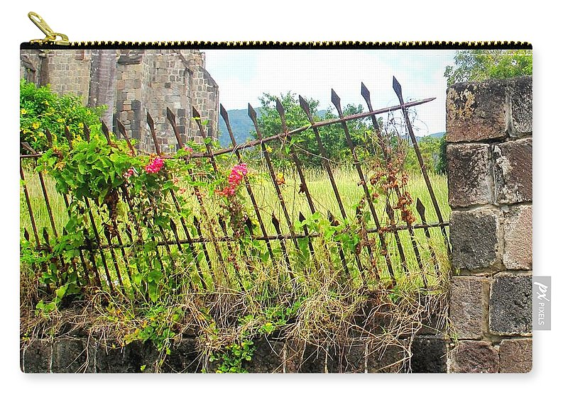 Church Carry-all Pouch featuring the photograph Better Days by Ian MacDonald