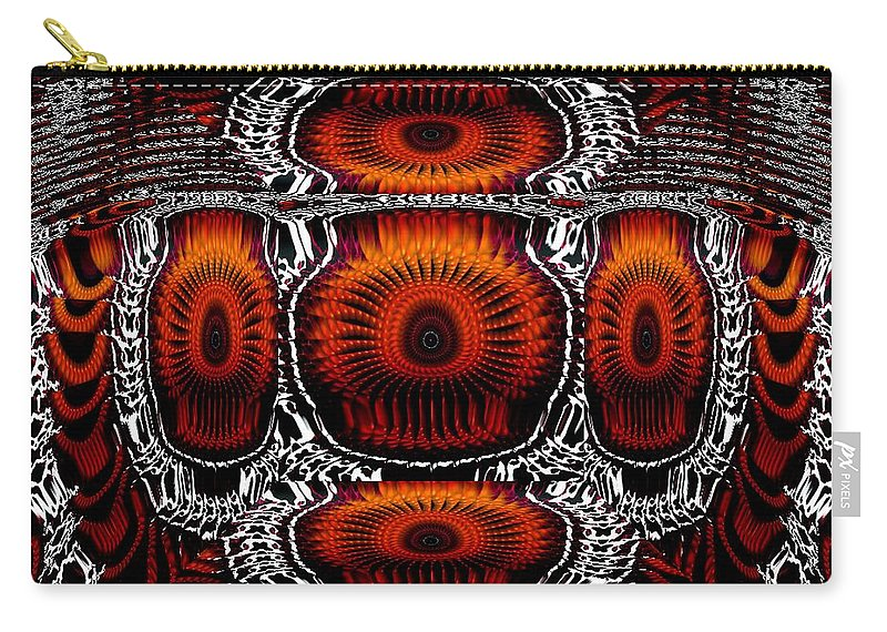 Abstract Carry-all Pouch featuring the digital art Better Now by Robert Orinski