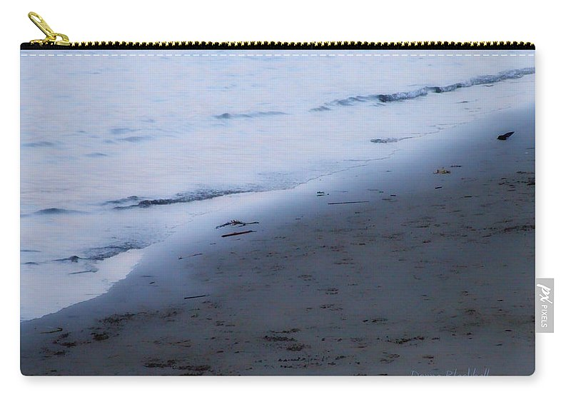 Beach Carry-all Pouch featuring the photograph Between Light And Shadow by Donna Blackhall