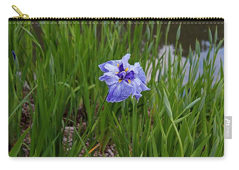 Iris Carry-all Pouch featuring the photograph Bewildered by Michiale Schneider