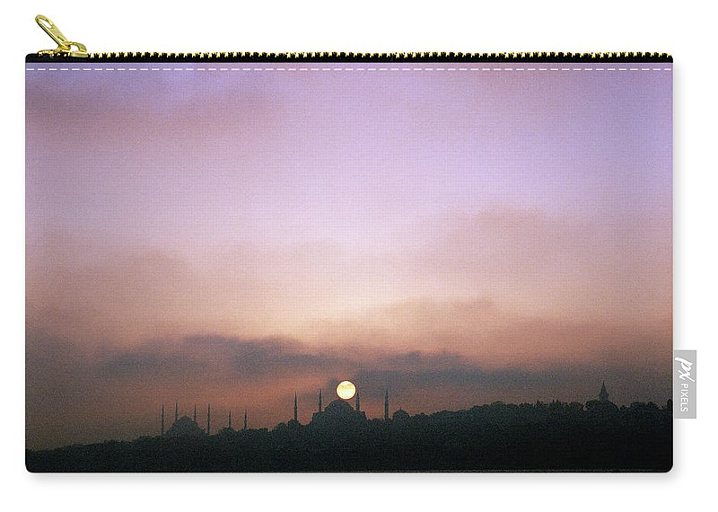 Istanbul Carry-all Pouch featuring the photograph Bewitching Night by Shaun Higson
