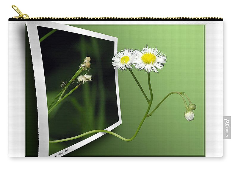 2d Carry-all Pouch featuring the photograph Beyond The No Fly Zone by Brian Wallace