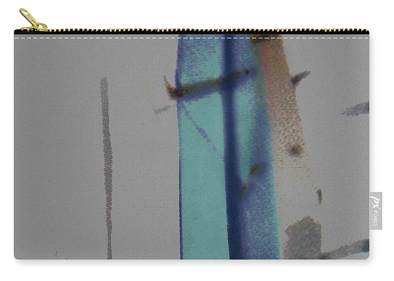 Veil Carry-all Pouch featuring the digital art Beyond The Veil by Ken Walker