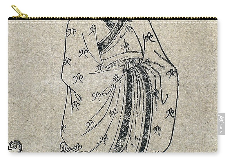 Science Carry-all Pouch featuring the photograph Bian Que, Ancient Chinese Physician by Wellcome Images