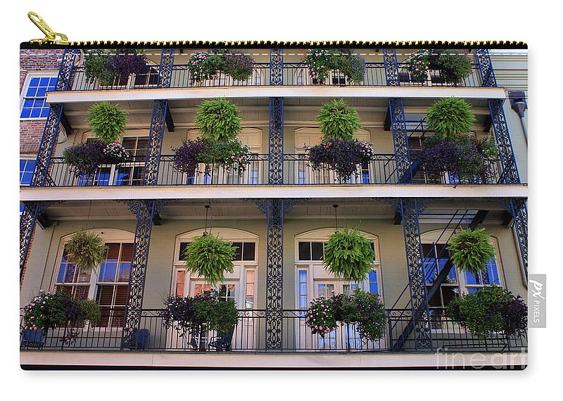 New Orleans Carry-all Pouch featuring the photograph Bienville by Carol Groenen