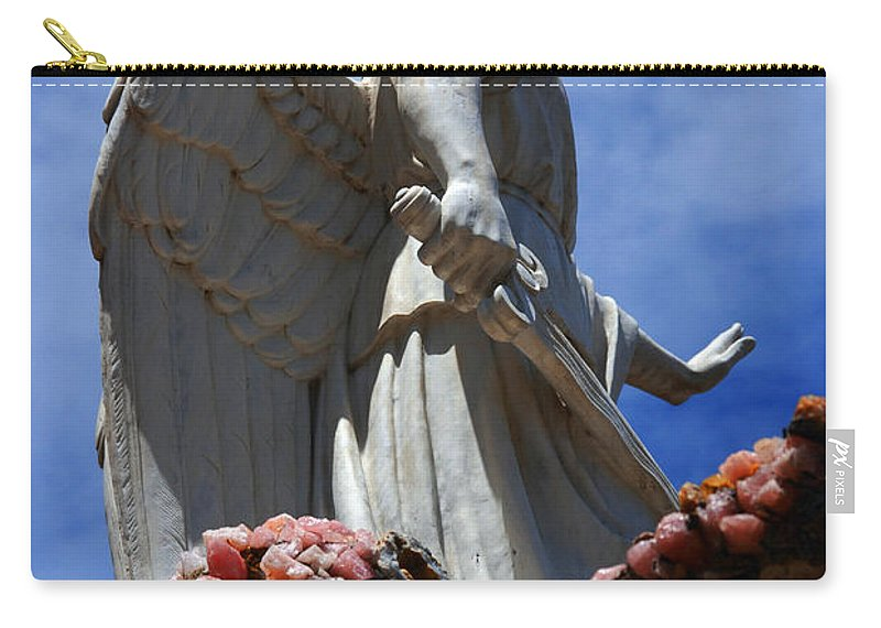 Angel Carry-all Pouch featuring the photograph Big Angel Wings by Susanne Van Hulst