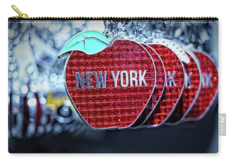 New York Carry-all Pouch featuring the photograph Big Apple by Nick Difi