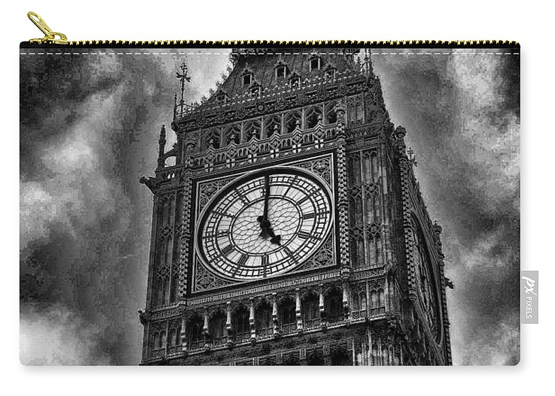Big Ben Carry-all Pouch featuring the photograph Big Ben London England by Jon Berghoff