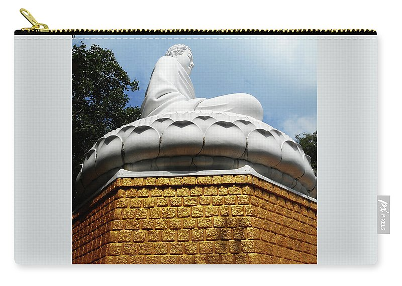 Phu My Carry-all Pouch featuring the photograph Big Buddha 1 by Ron Kandt