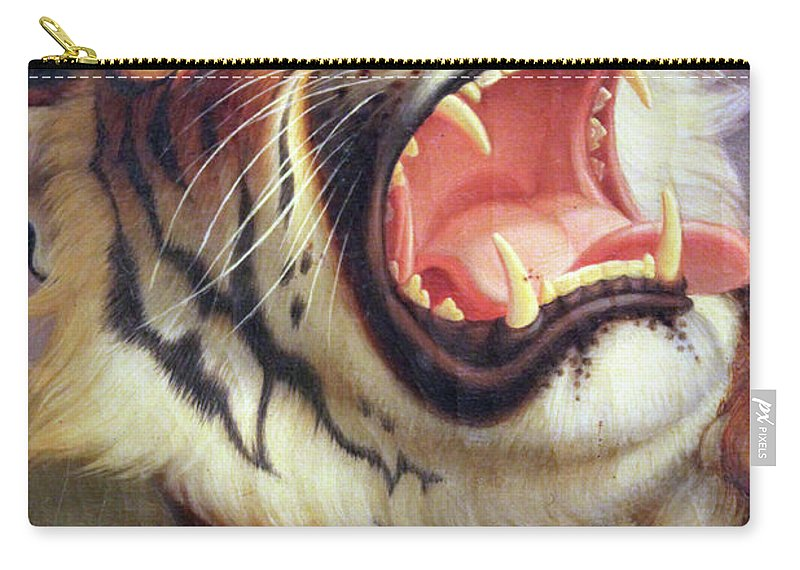 Big Carry-all Pouch featuring the photograph Big Cat by Munir Alawi