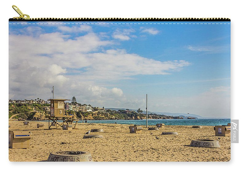 2011 Carry-all Pouch featuring the digital art Big Corona Beach by Amer Khwaja