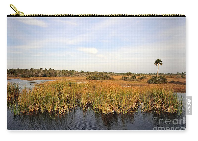 Big Cypress National Preserve Florida Carry-all Pouch featuring the photograph Big Cypress Landscape Number Six by David Lee Thompson