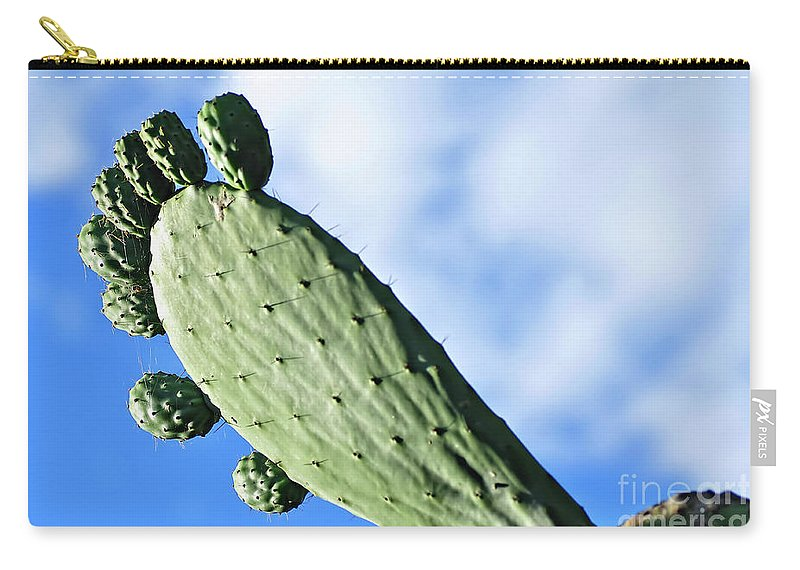 Photography Carry-all Pouch featuring the photograph Big Foot by Kaye Menner