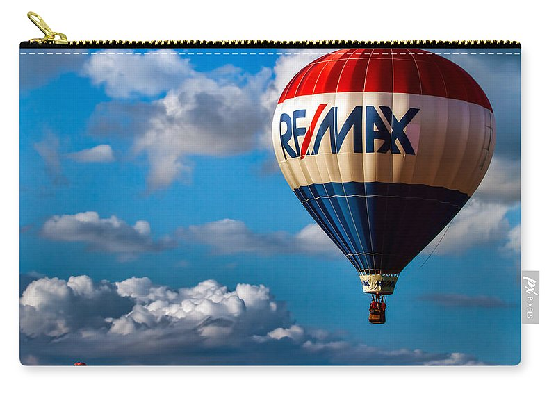Carry-all Pouch featuring the photograph Big Max Re Max by Bob Orsillo