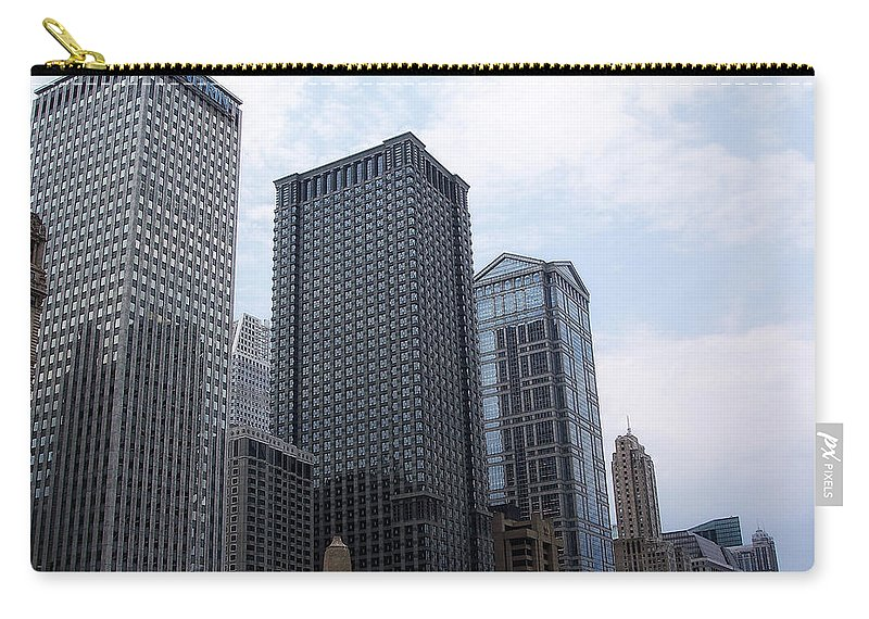 Chicago Carry-all Pouch featuring the photograph Big N Tall by Donna Blackhall