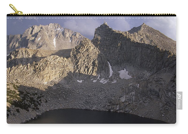 Big Pothole Lake Carry-all Pouch featuring the photograph Big Pothole Lake by Soli Deo Gloria Wilderness And Wildlife Photography