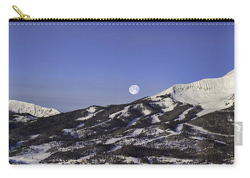 Panorama Carry-all Pouch featuring the photograph Big Sky Panorama by Mark Harrington