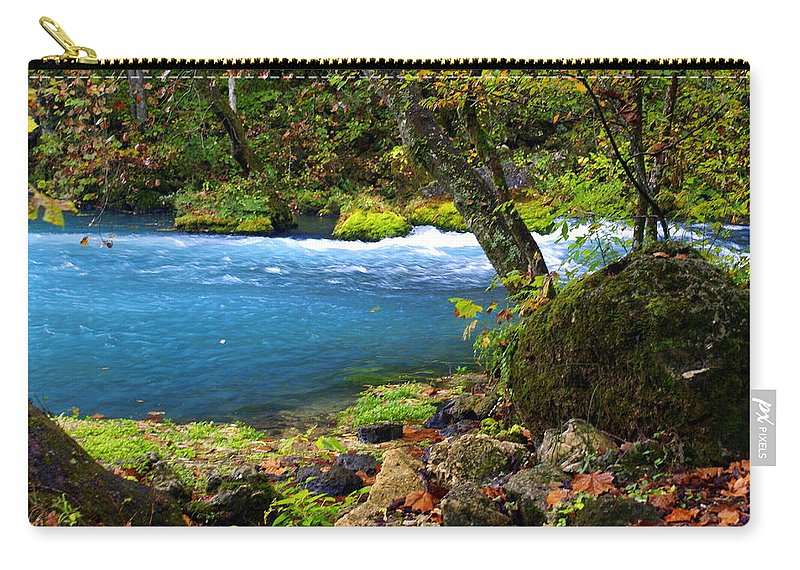 Big Spring Carry-all Pouch featuring the photograph Big Spring by Marty Koch