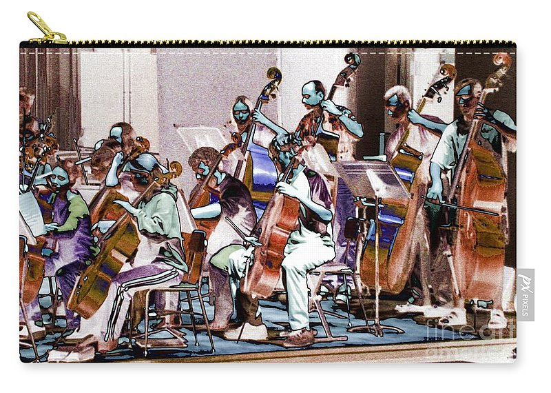Upright Base Carry-all Pouch featuring the photograph Big String 1 by Ron Bissett
