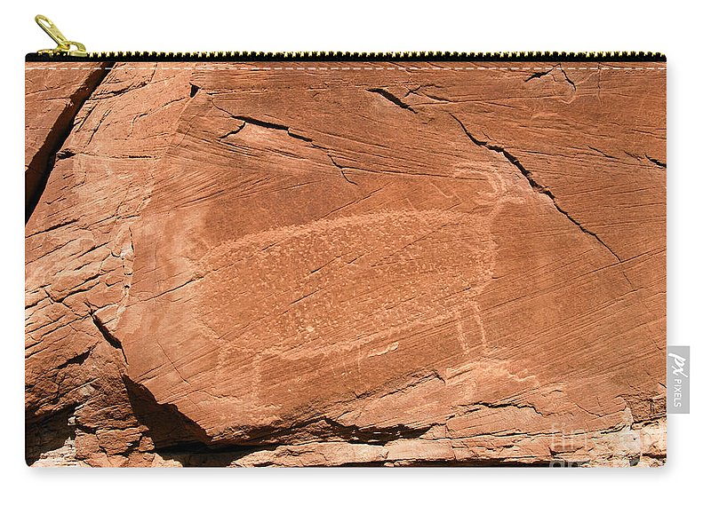 Bighorn Sheep Carry-all Pouch featuring the photograph Bighorn by David Lee Thompson