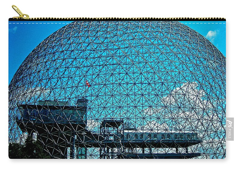 North America Carry-all Pouch featuring the photograph Biosphere Montreal by Juergen Weiss