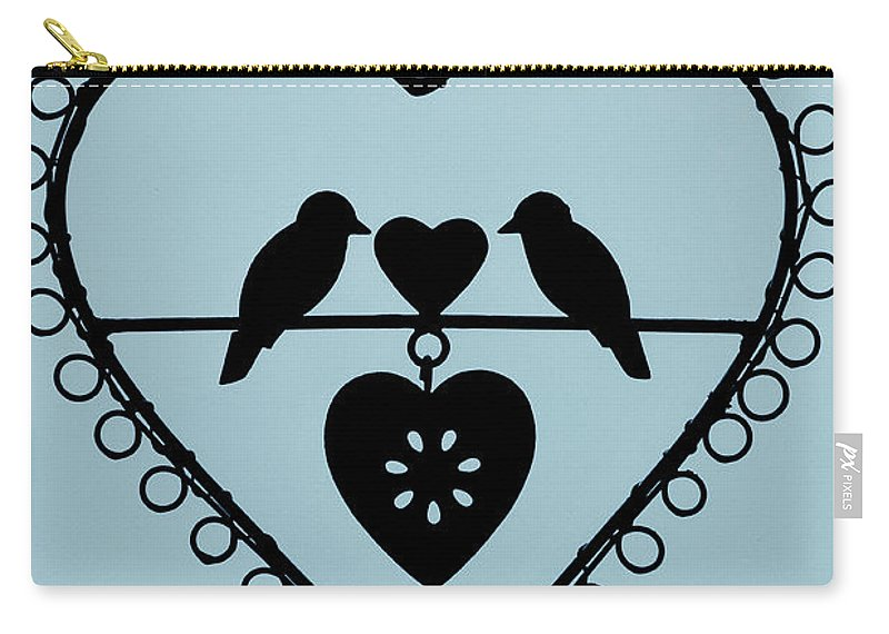 Bird Heart Carry-all Pouch featuring the photograph Bird Heart by Brothers Beerens