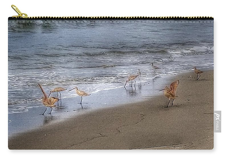 Carry-all Pouch featuring the photograph Birding by Beth LaFata