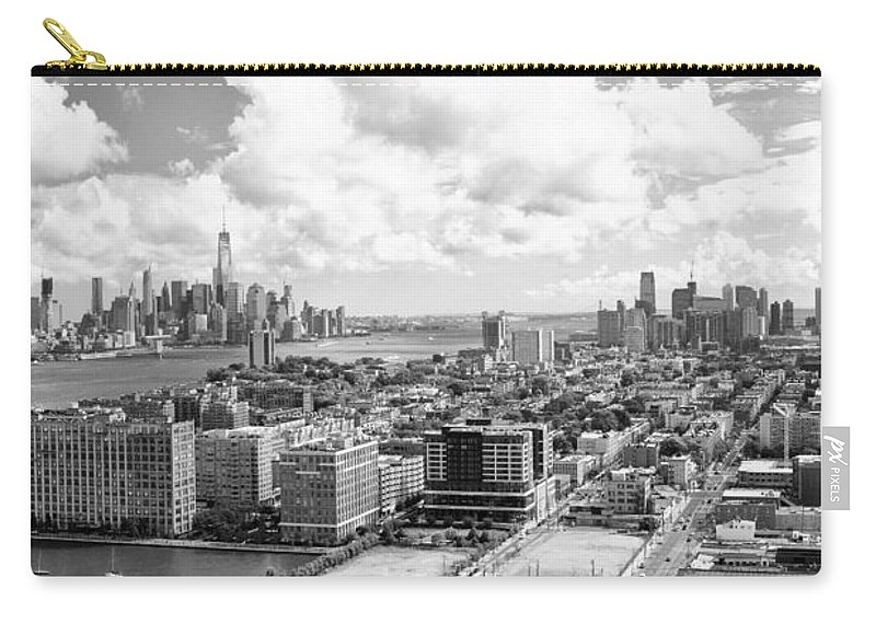 Hoboken Carry-all Pouch featuring the photograph Bird's Eye View Hoboken Nj by Regina Geoghan