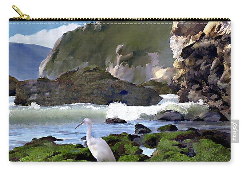Ocean Carry-all Pouch featuring the photograph Bird's Eye View by Kurt Van Wagner
