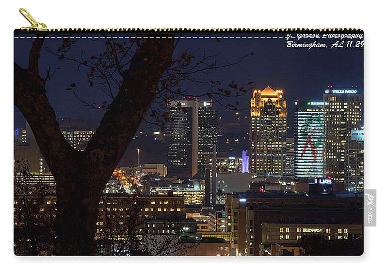 Downtown Birmingham Al Carry-all Pouch featuring the photograph Birmingham Skies by Jeffery Gordon