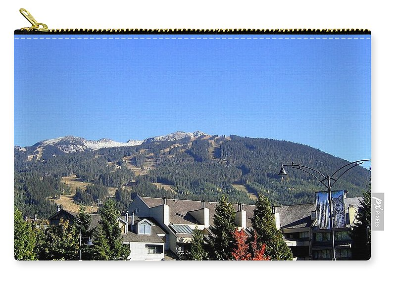 2010 Olympics Carry-all Pouch featuring the photograph Blackcomb Mountain by Will Borden