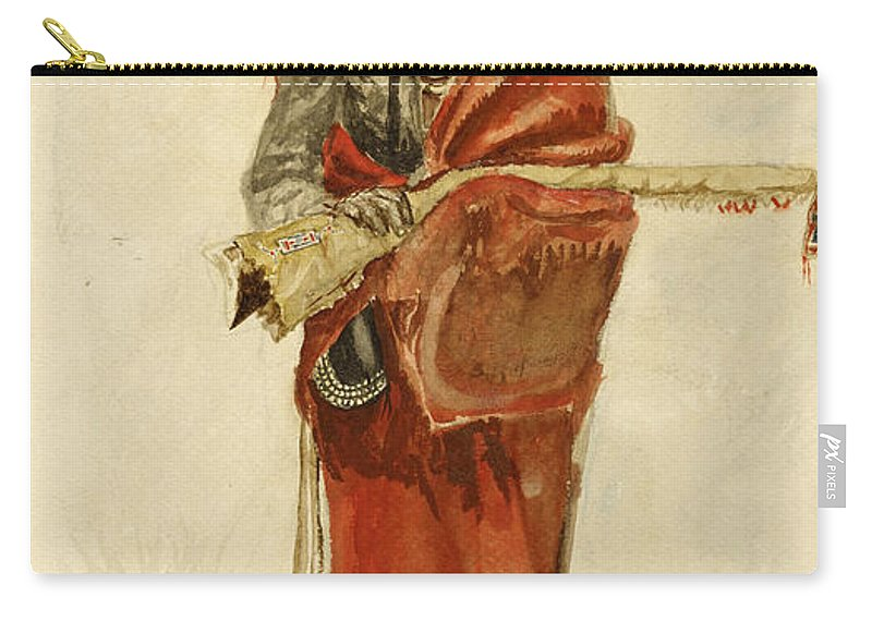 Blackfoot Indian Carry-all Pouch