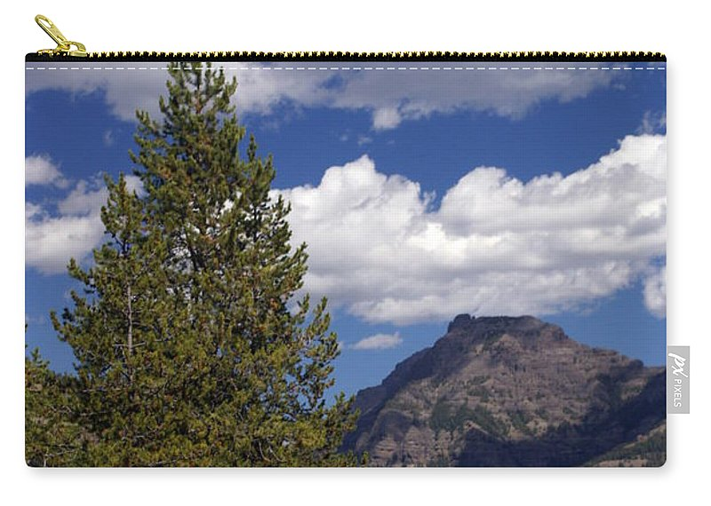 Yellowstone National Park Carry-all Pouch featuring the photograph Blacktail Plateau Vertical by Marty Koch