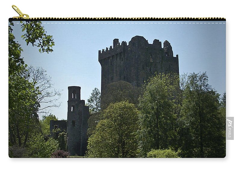 Irish Carry-all Pouch featuring the photograph Blarney Castle Ireland by Teresa Mucha