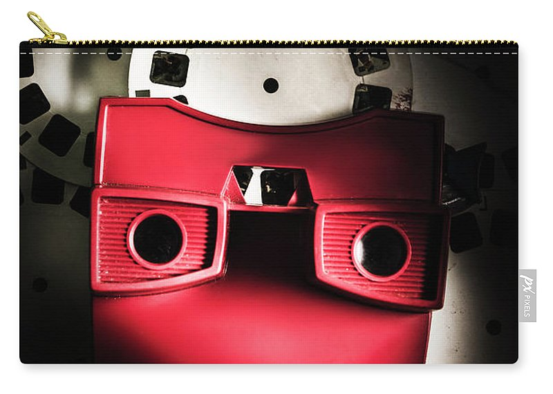 Flashback Carry-all Pouch featuring the photograph Blast Past A Retro Play Back by Jorgo Photography - Wall Art Gallery