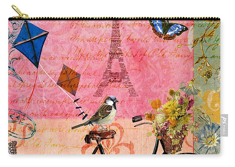 Sandy Lloyd Carry-all Pouch featuring the painting Bliss by Sandy Lloyd