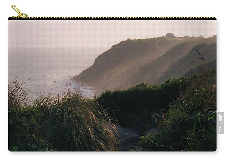 Block Island Carry-all Pouch featuring the photograph Block Island by John Scates