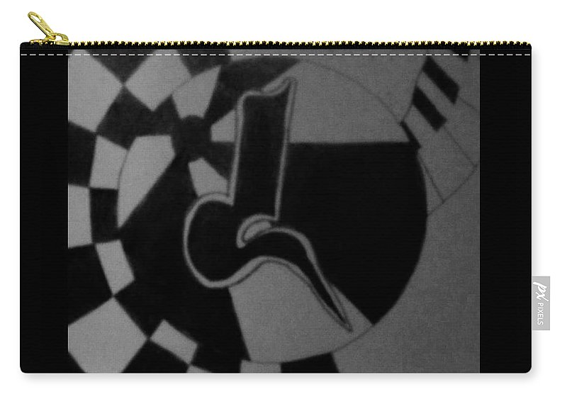 Abstract Carry-all Pouch featuring the photograph Blondeass Sunshine by Rob Hans
