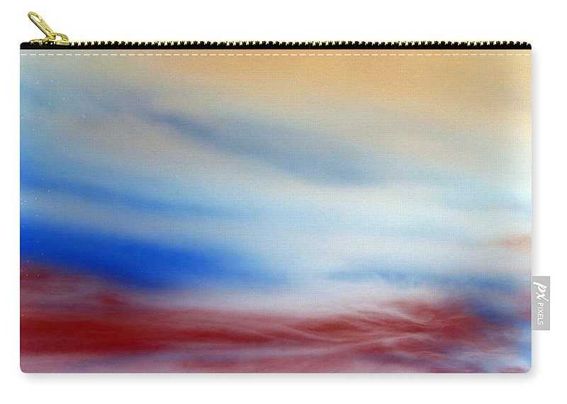 Heaven Carry-all Pouch featuring the photograph Bloody Clouds by Munir Alawi