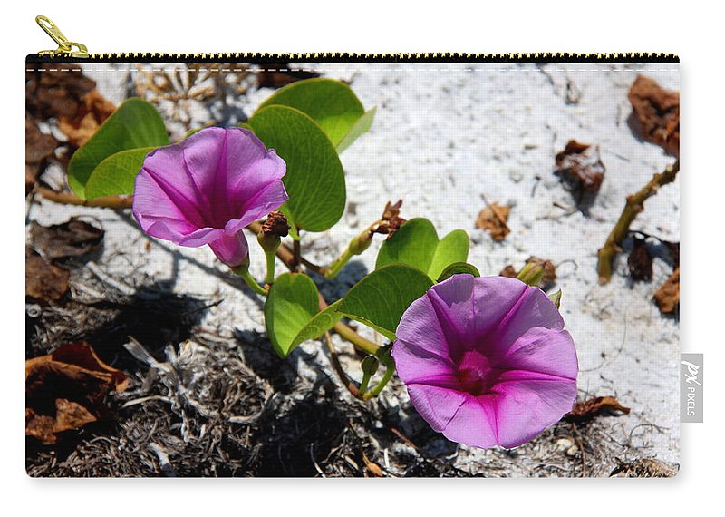 Cross Vine Carry-all Pouch featuring the photograph Bloomin Cross Vine by Barbara Bowen