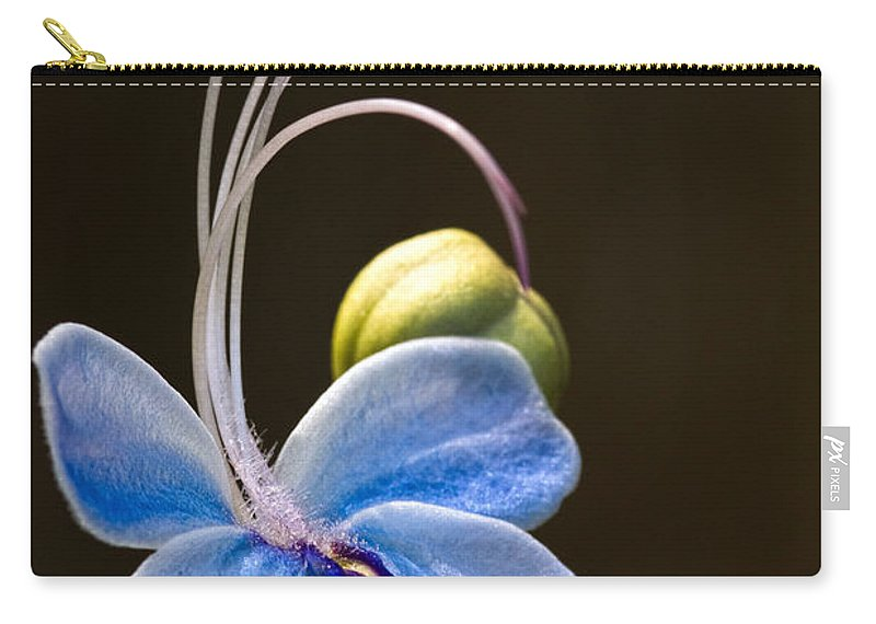 Flower Carry-all Pouch featuring the photograph Blooming Butterfly by Christopher Holmes