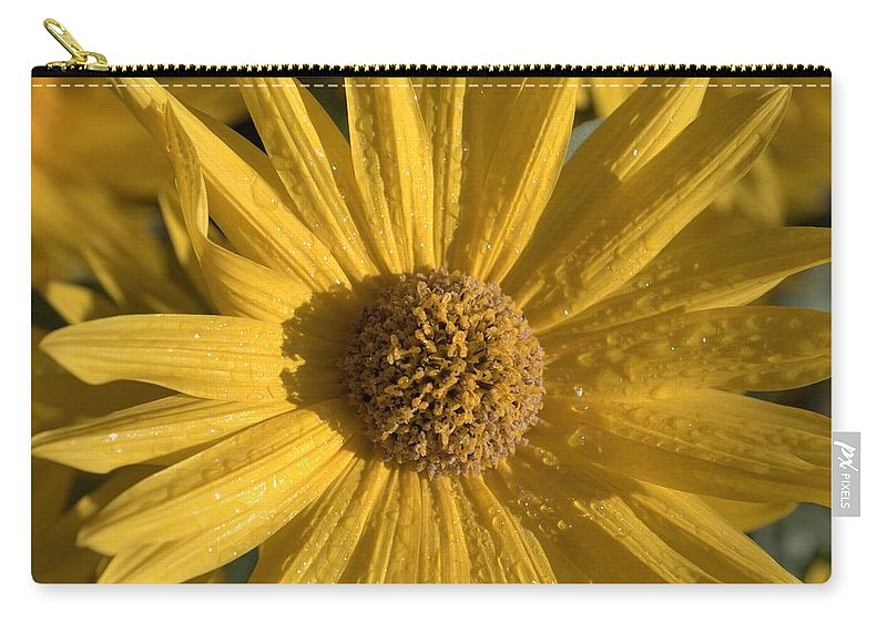 Photography Carry-all Pouch featuring the photograph Blooming In My Ditch by J R Seymour