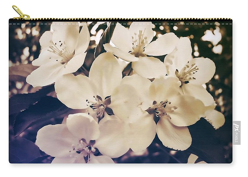 Blossom Carry-all Pouch featuring the photograph Blossom by JAMART Photography