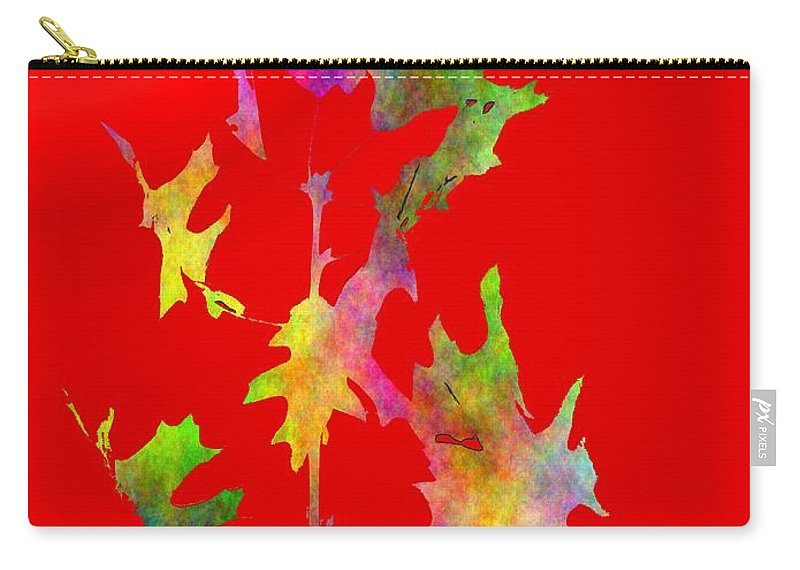 Fall Carry-all Pouch featuring the digital art Blowin In The Wind 6 by Tim Allen