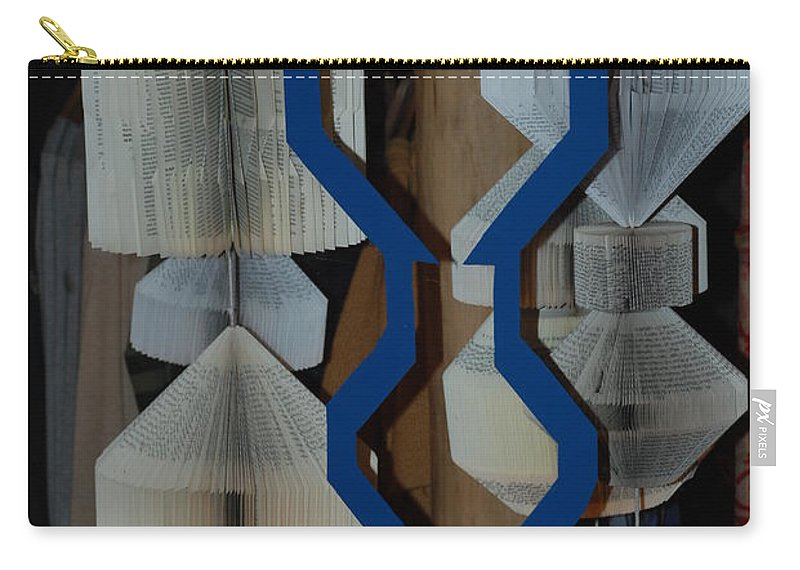 Window Carry-all Pouch featuring the photograph Blue And White by Rob Hans