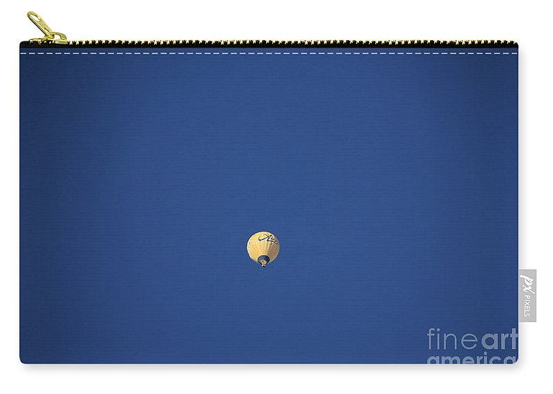 Blue Carry-all Pouch featuring the photograph Blue by Dejan Milic