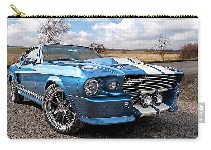 Blue Skies Cruising - 1967 Eleanor Mustang Carry-all Pouch