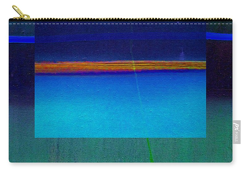 Landscape Carry-all Pouch featuring the painting Blue Water by Charles Stuart