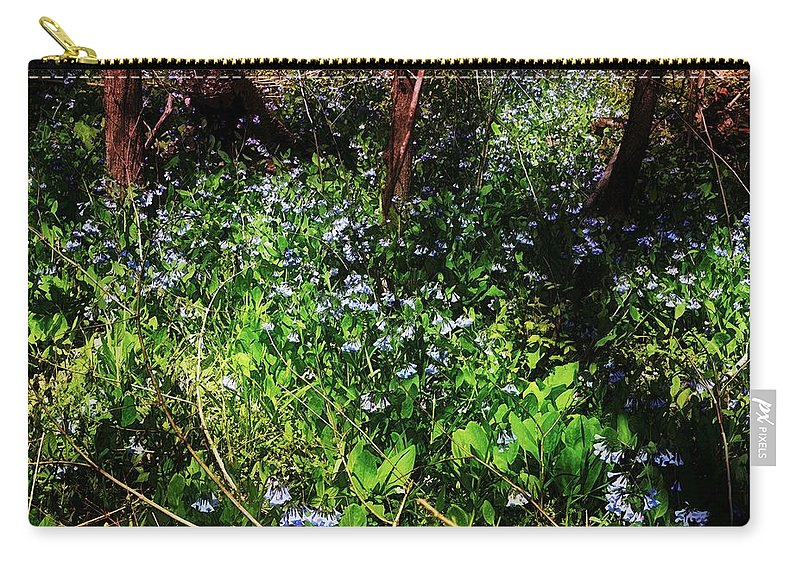 Virginia Bluebell Carry-all Pouch featuring the photograph Bluebell 23 by Galen Puronen